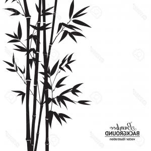 300x300 Stock Illustration Bamboo Vector Drawing Background Design Soidergi