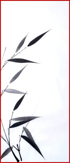 236x545 bamboo drawing best sumi e bamboo images
