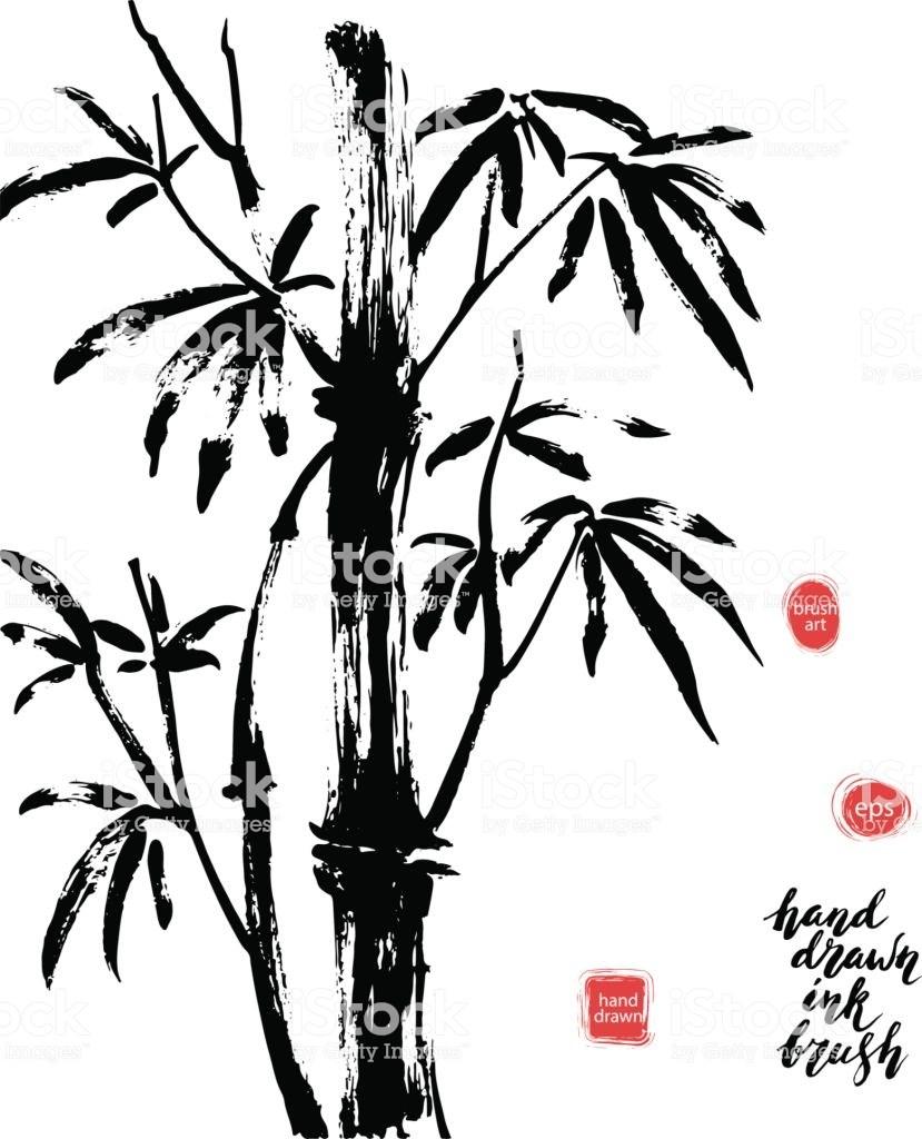 829x1024 Bamboo Tree Art Lookup Sky Kite Summer Sunshine Landscape Japan