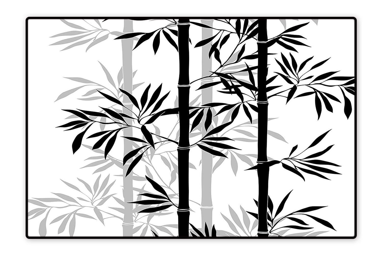 1500x1000 Collection Area Rug Silhouette Of Spiritual Bamboo