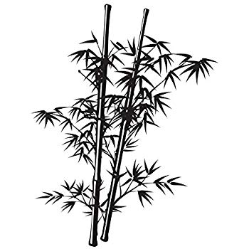 350x350 Stickerbrand Chinese Bamboo Wall Decal Tree Tall