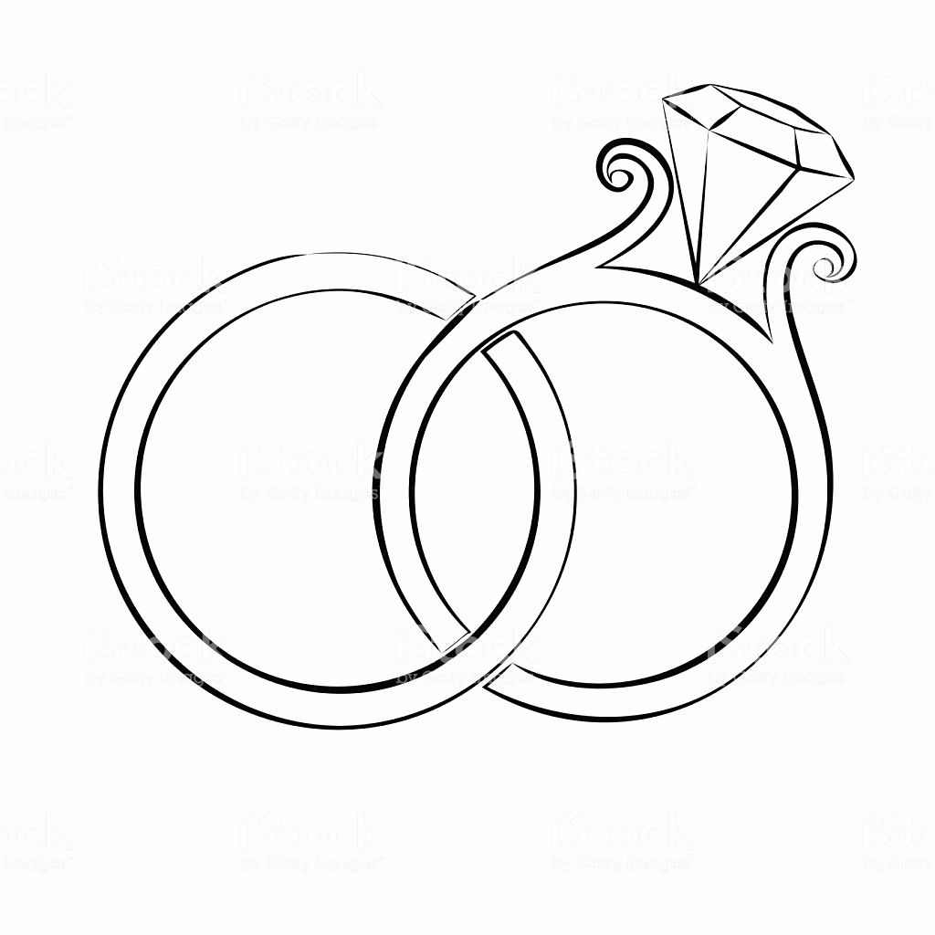 1024x1024 Awesome Wedding Ring Drawing Drawing Ideas