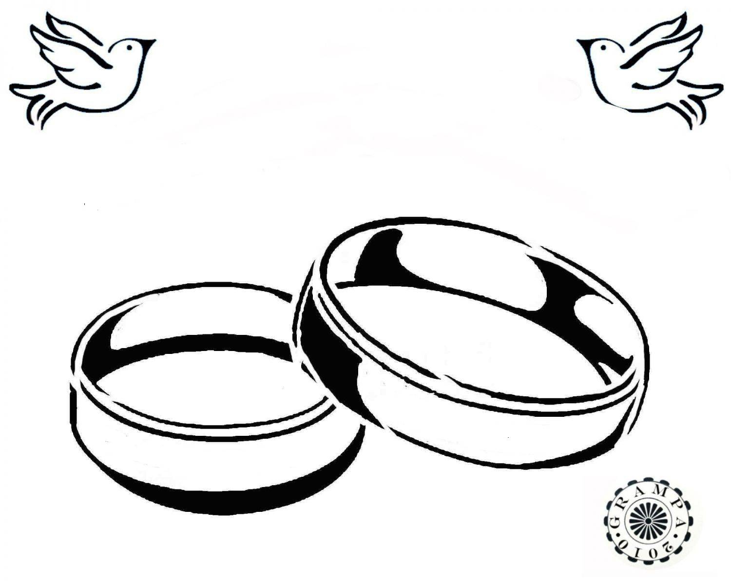 1500x1200 Ring Drawing Wedding Band For Free Download