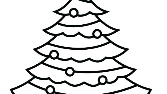 570x320 outline of a tree cartoon vector illustration outline tree tree