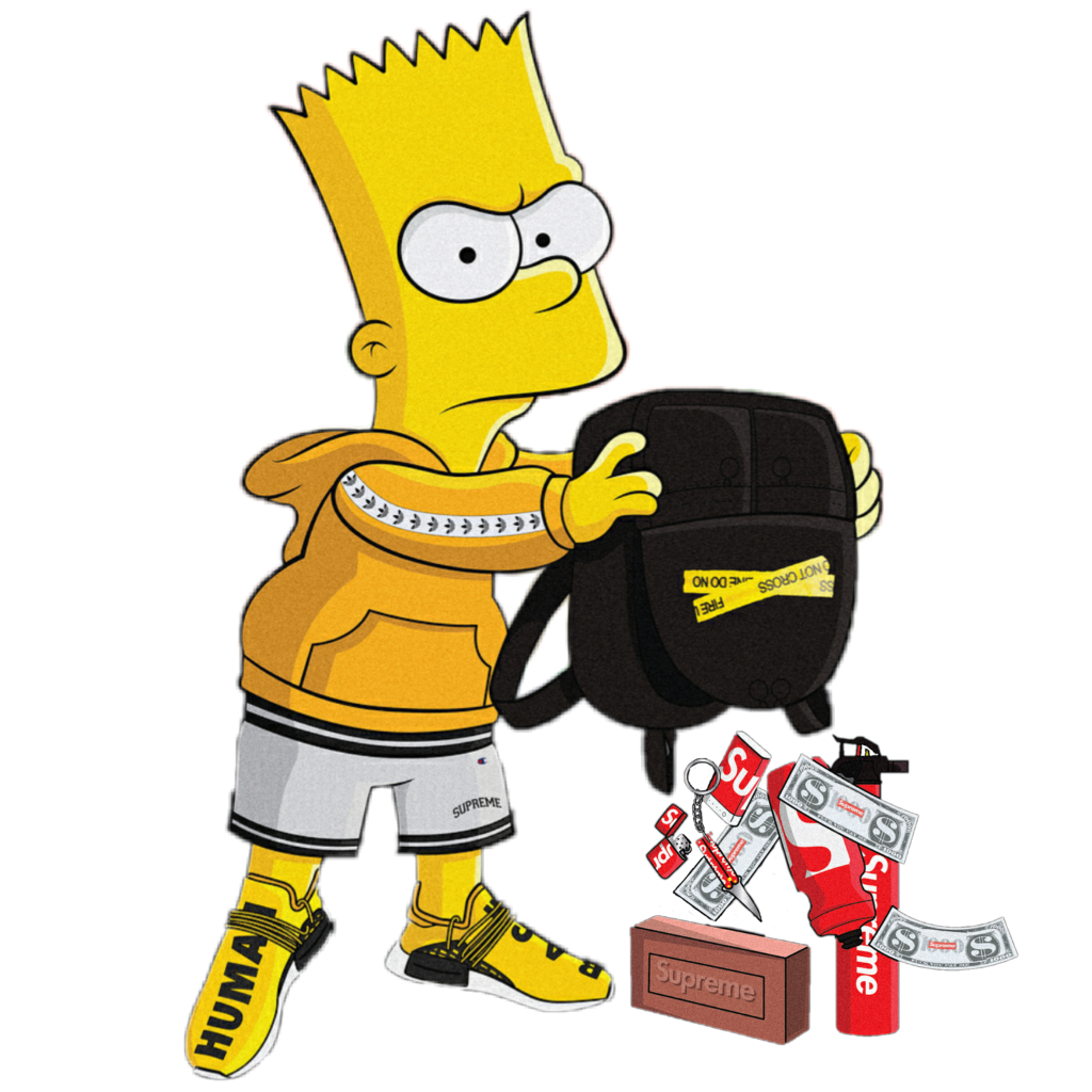 aba9261b 1024x1024 collection of free bape drawing bart simpson download on ui ex