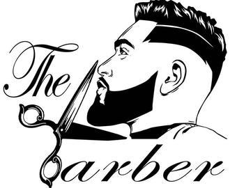 Barber Shop Drawing Free Download On Clipartmag