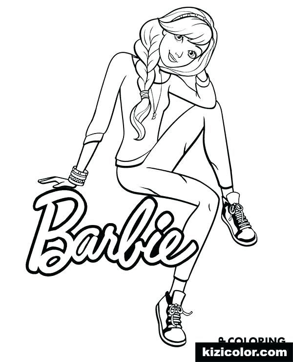 Barbie Drawing Pages Free Download On Clipartmag