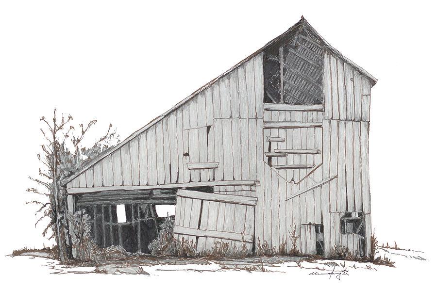 900x598 Martha's Barn Drawing
