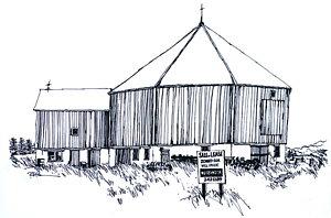 300x198 The Old Barn Drawings Fine Art America