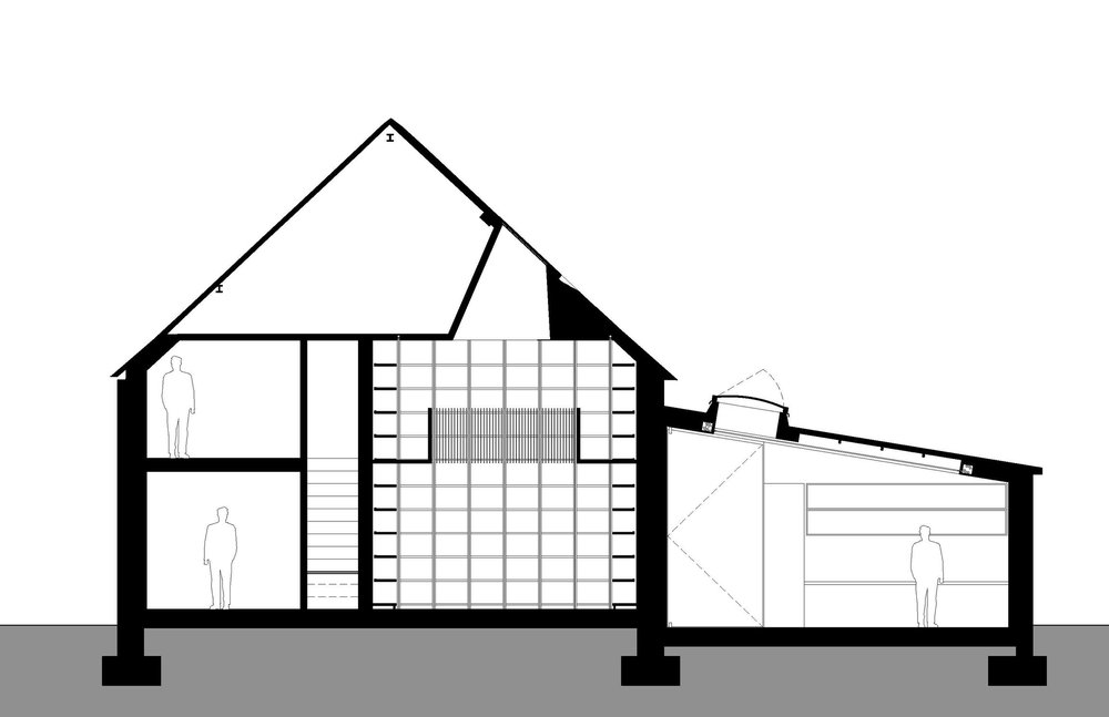 1000x647 Albion Barn Studio Seilern Architects