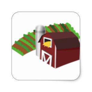 307x307 Barn Drawing Stickers Zazzle Au