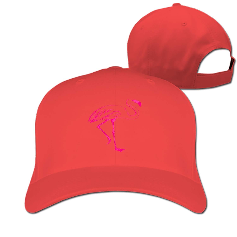 1500x1500 Flamingo Drawing Baseball Cap Trucker Hats Adjustable Dad Hat