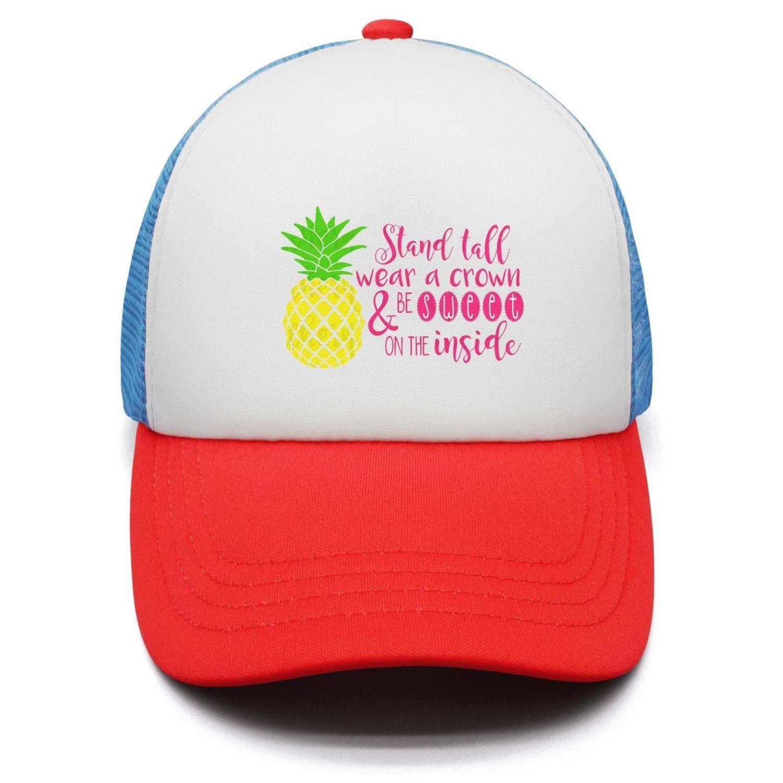 1500x1500 Progiftoo Girls' Pineapple Drawing Baseball Cap