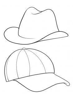 235x302 How To Draw Hats, Step