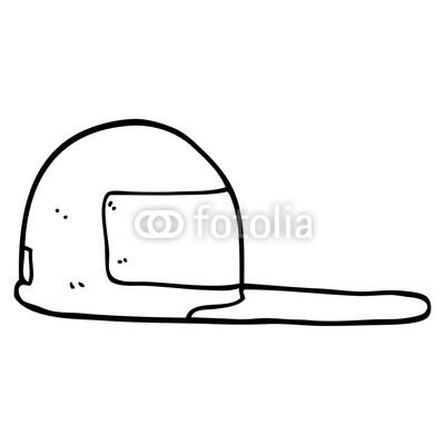 400x400 Line Drawing Cartoon Baseball Cap Buy Photos Ap Images