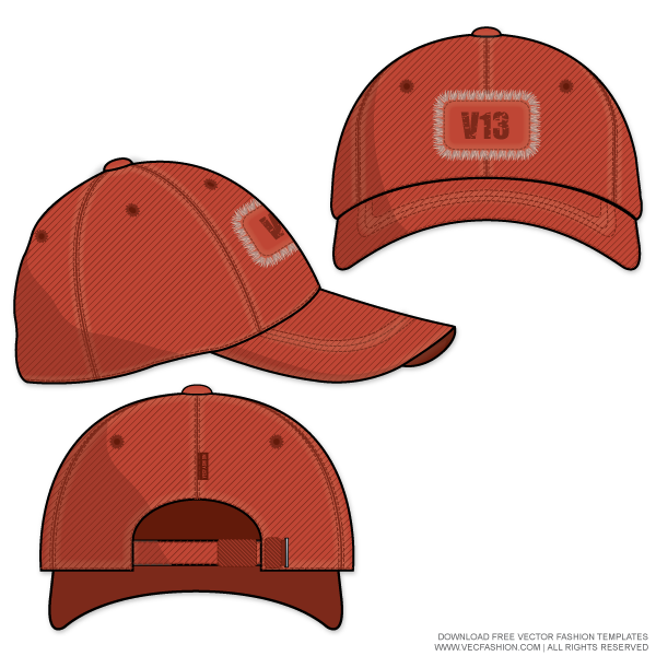 Baseball Hat Drawing