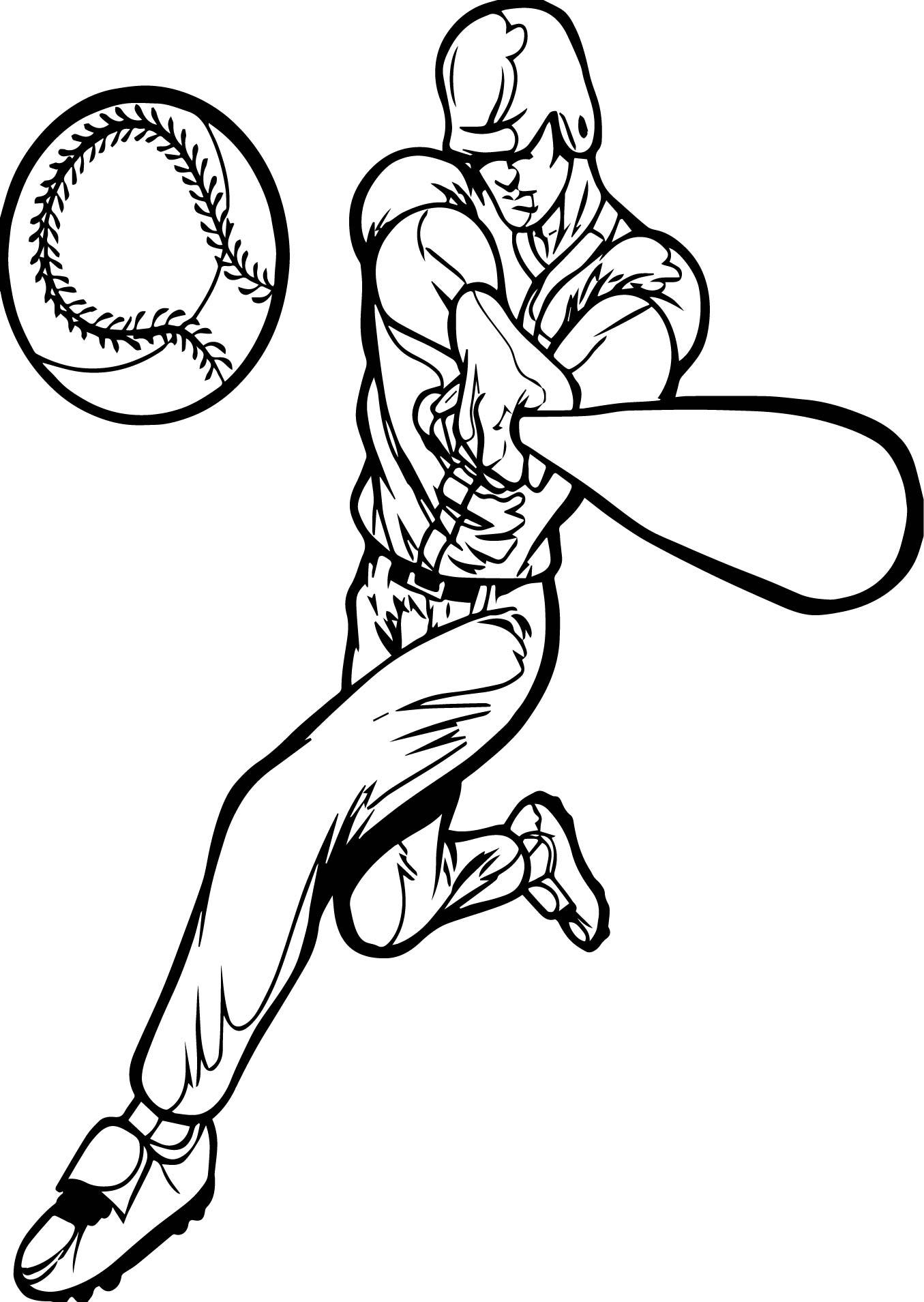 1355x1909 Baseball Pitcher Outline