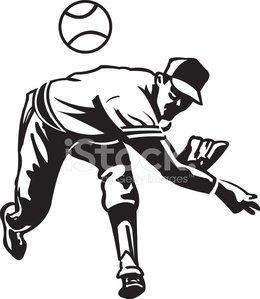 260x299 Baseball Pitcher Pitching Ball Stock Vectors
