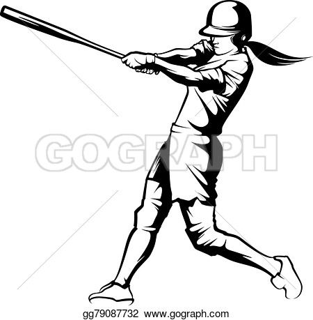 450x459 Collection Of Free Softball Clipart Draw Amusement Clipart