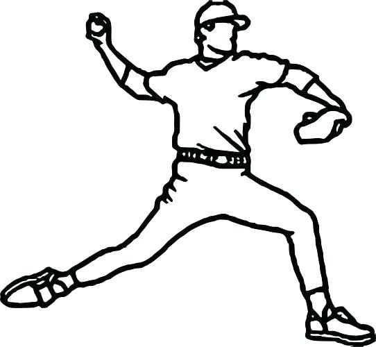 542x500 Pitcher Coloring Pages Coloring Pitchers Color Pitchers Printable