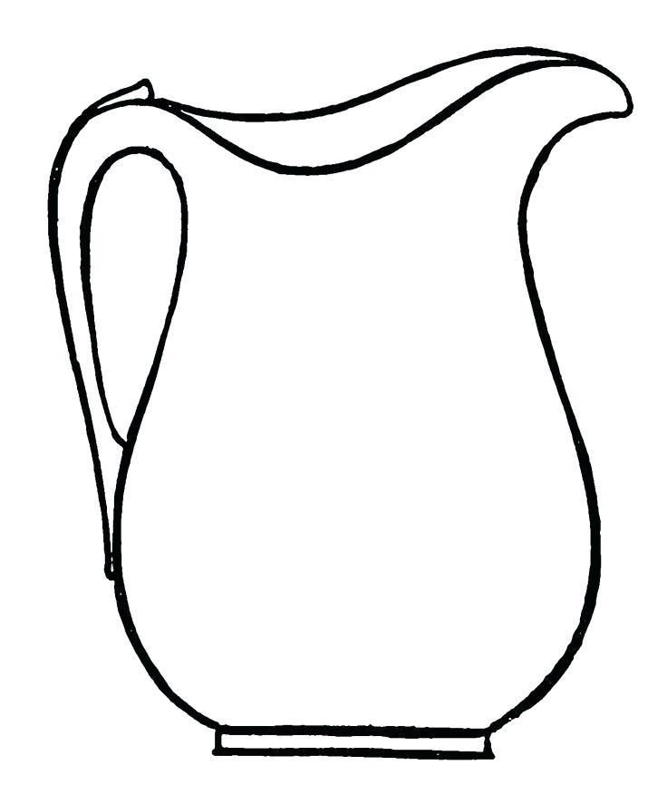 736x887 pitcher coloring pages pitcher coloring pages google search
