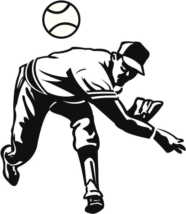599x689 Baseball Pitcher