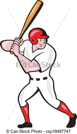 272x470 Baseball Bat Clipart Better Baseball Player Drawing
