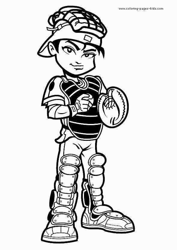 590x833 Baseball Player Coloring Pages Best Of Baseball Player Drawing