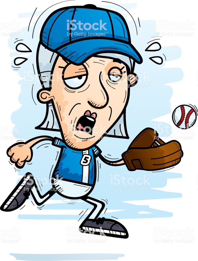 777x1024 Baseball Sketch Drawing Vector Fresh Exhausted Cartoon Senior