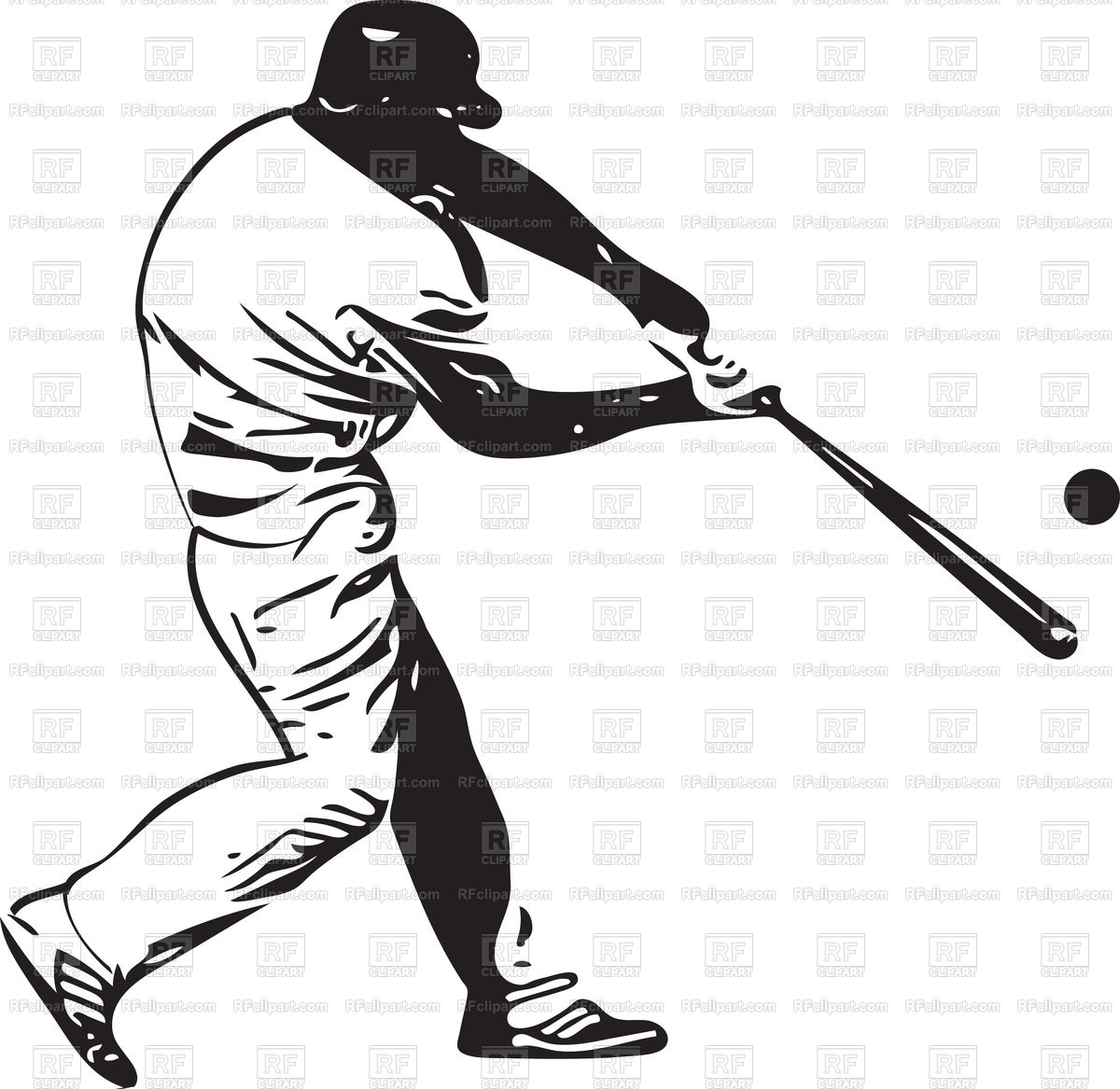 1200x1167 Baseball Player With Ball Vector Image Of People Aroastock