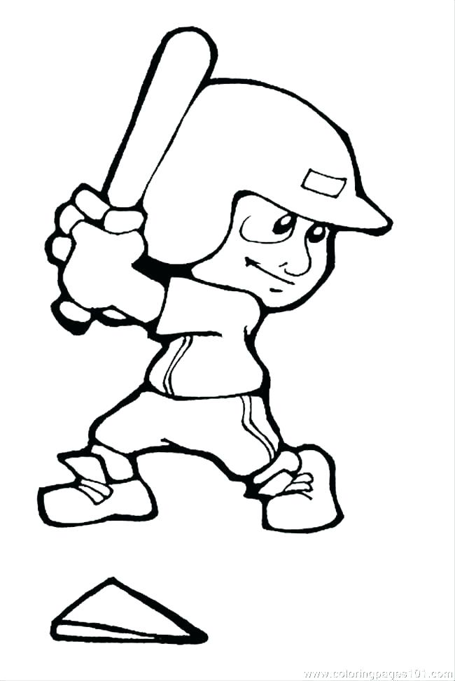 650x973 Baseball Drawing Player Mlb For Free Download