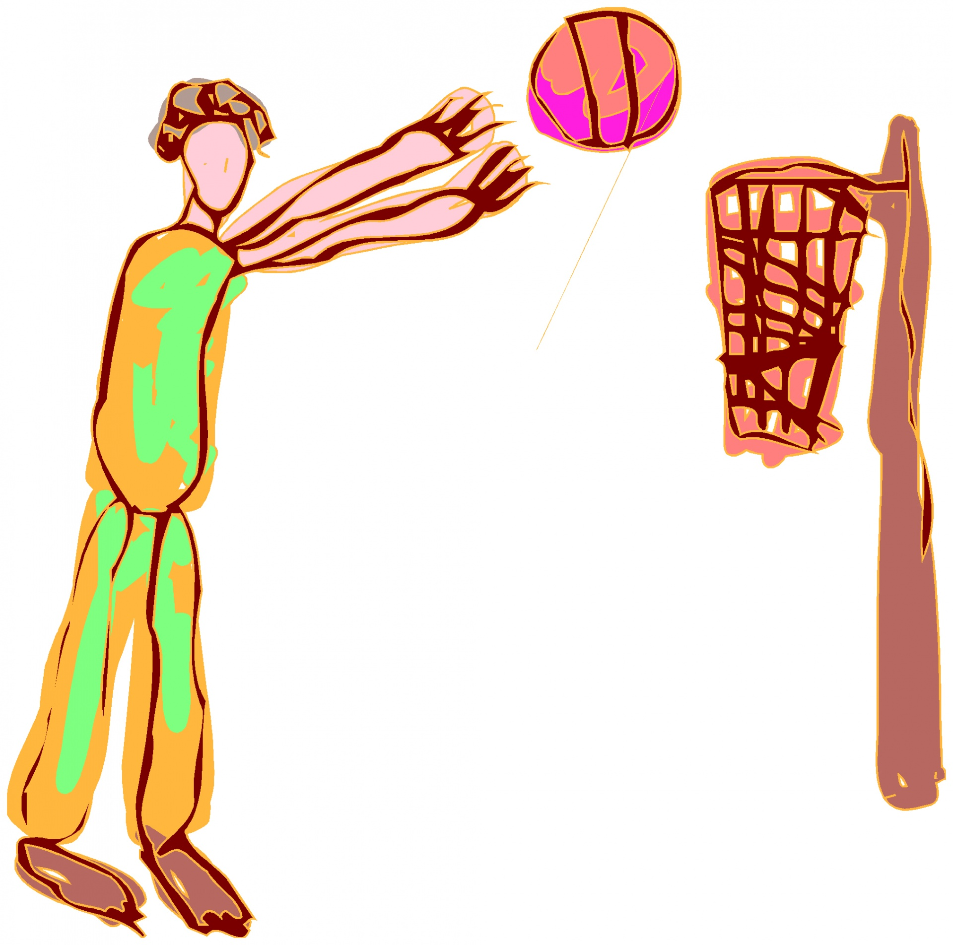 1920x1904 Baseball, Player, Ball, Sport, Drawing