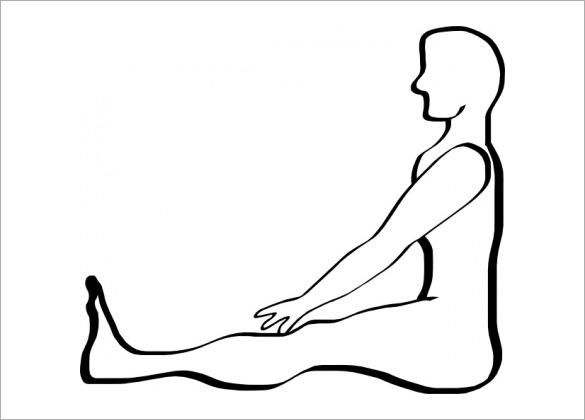 585x420 human body outline templates doc, pdf free premium templates