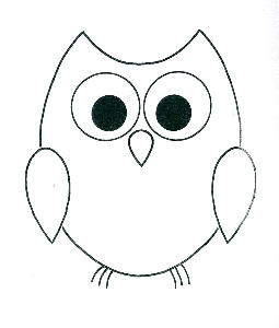 255x300 simple owl outline diy gifts owl outline, owl stencil, owl