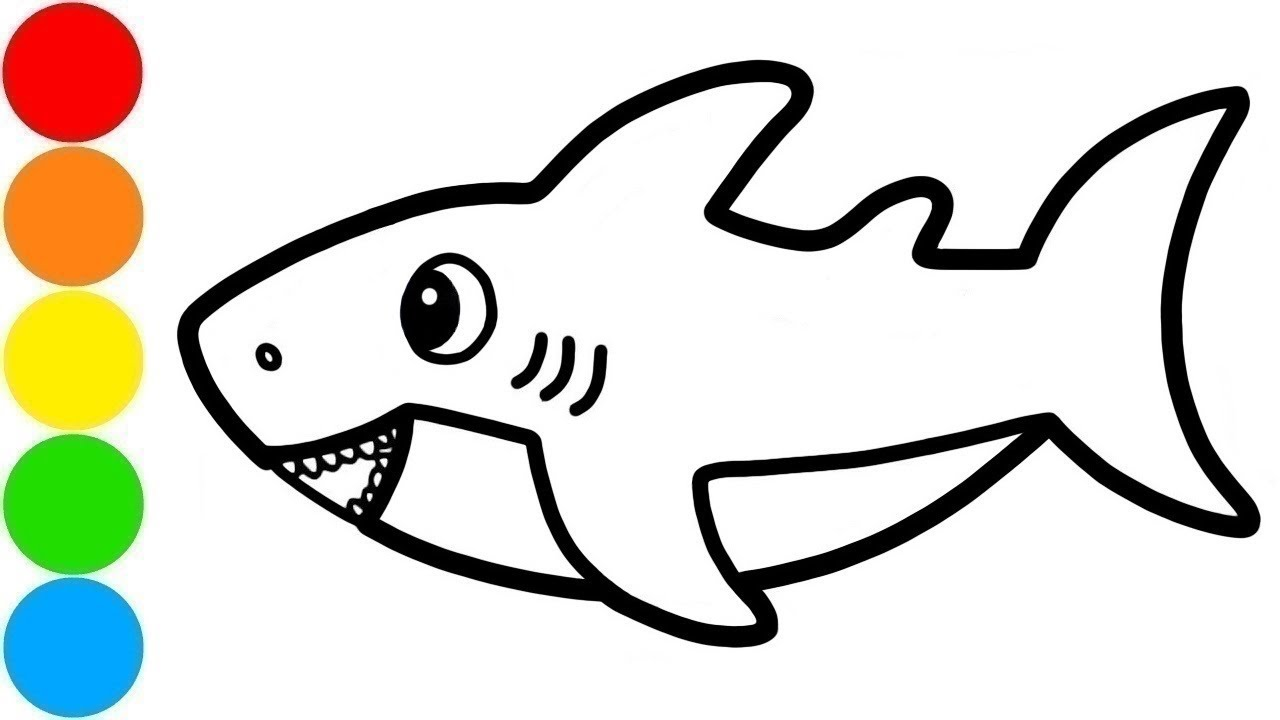Basic Shark Drawing | Free download on ClipArtMag