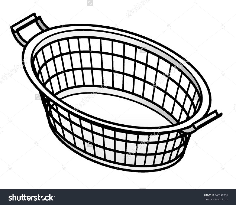 1500x1305 Ideas Laundry Basket Clip Art