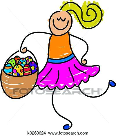 400x470 Drawings For Easter Drawing Basket Search Clip Art Illustrations