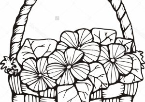 300x210 Flower Basket Pencil Drawing Flower Basket Pencil Drawing