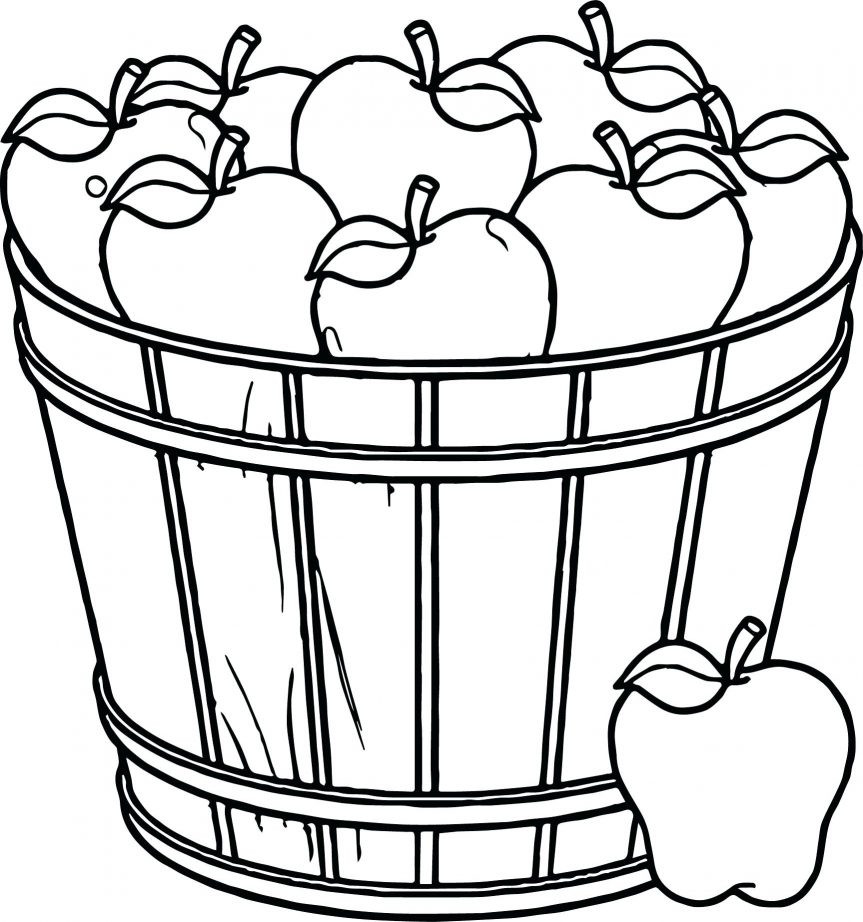 863x922 Vegetable Basket Clipart Black And White