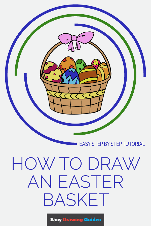 600x900 How To Draw An Easter Basket