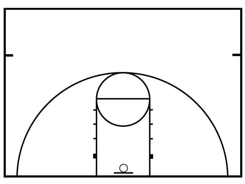 800x599 basketball half court diagram elegant how to paint a basketball
