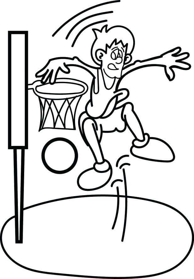 618x889 printable basketball court diagram basketball court drawing