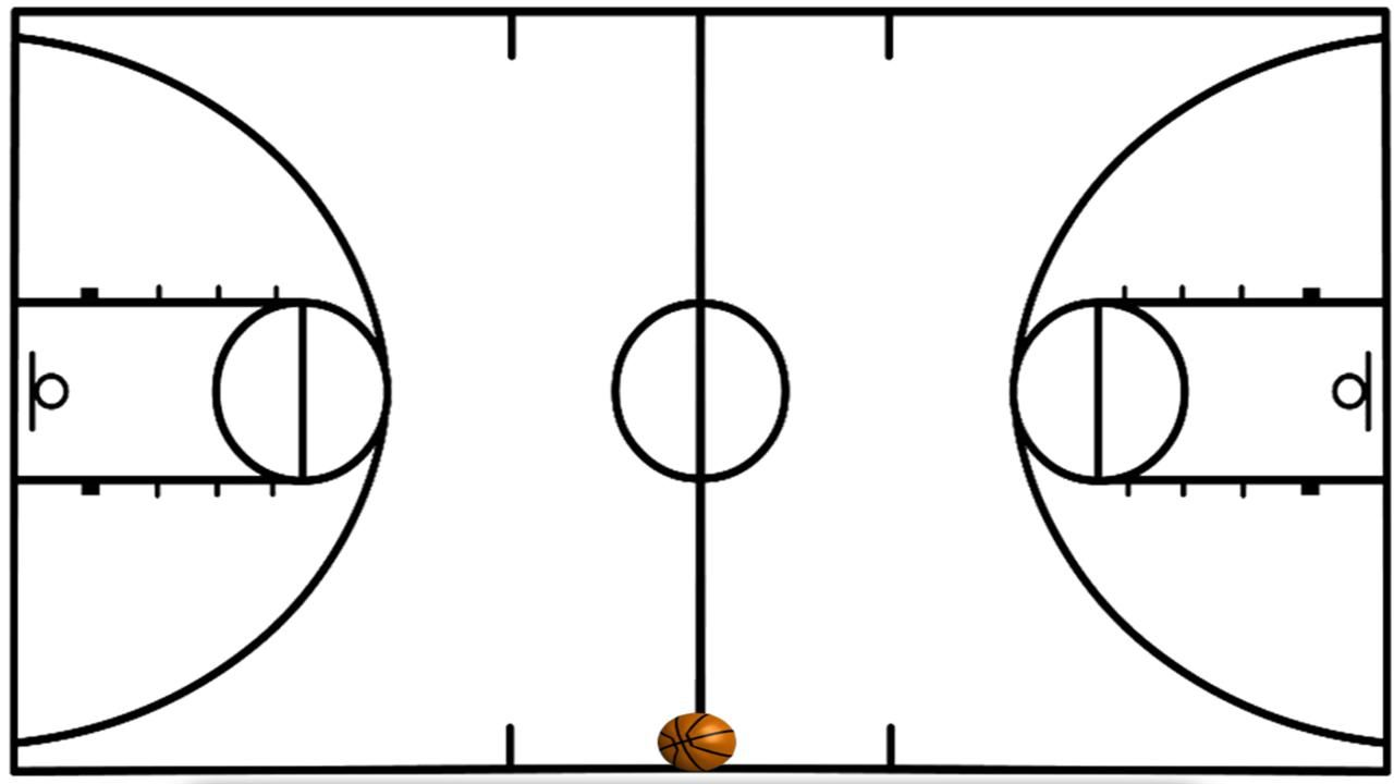 1280x720 basketball drawing basketball court for free download