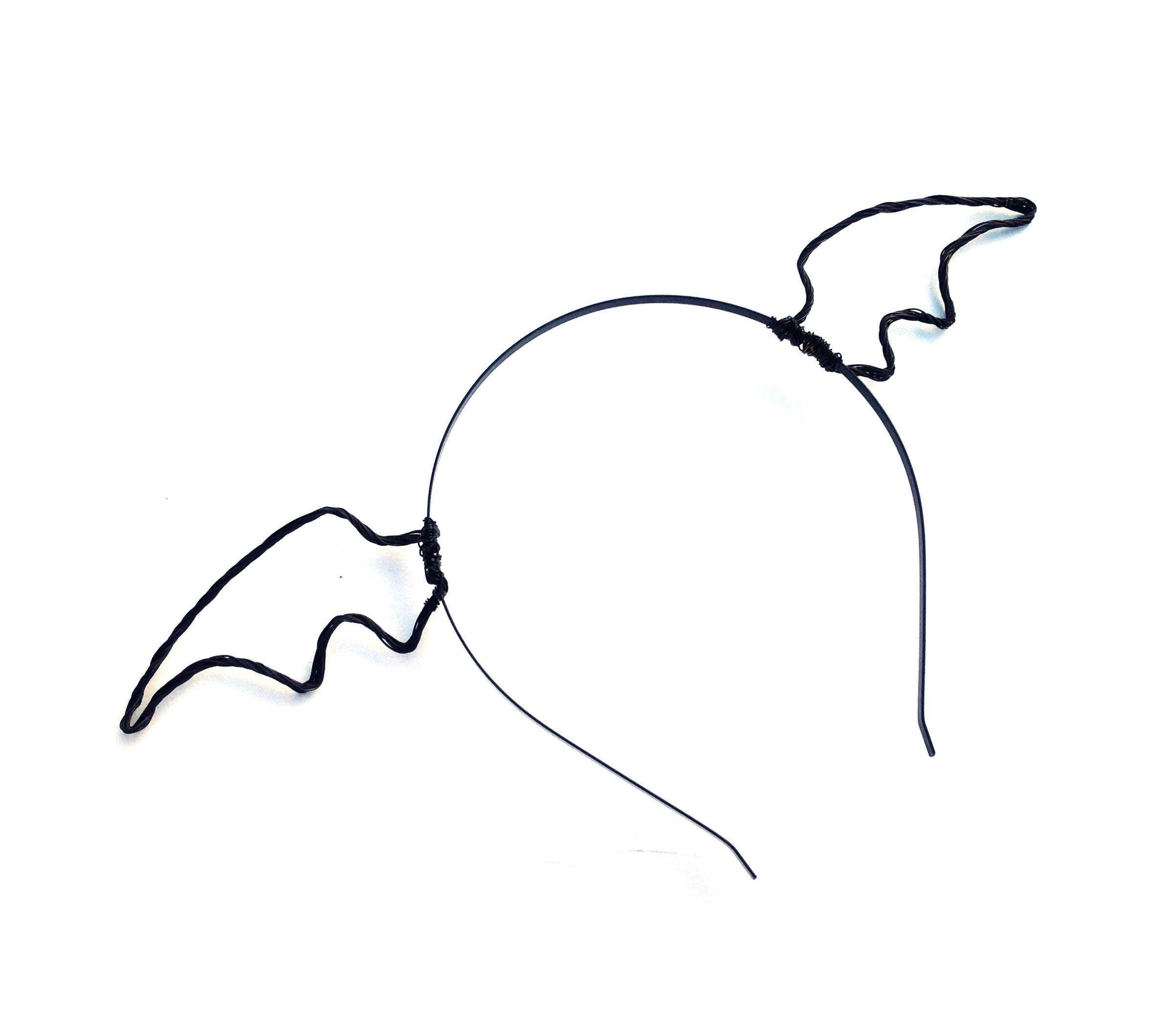 2390x2118 black mini bat wings headband small bat wing headband metal etsy