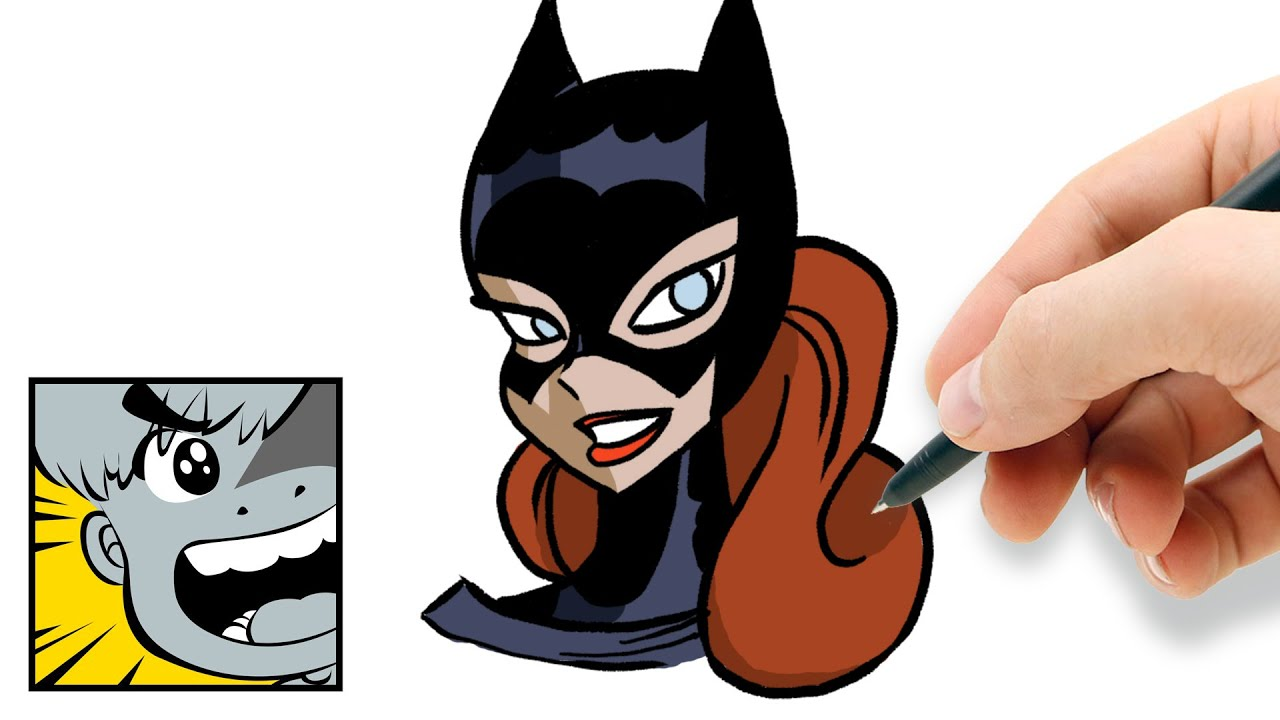 1280x720 How To Draw Batgirl