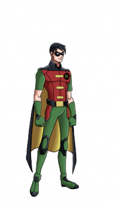 400x710 Download Free Png How To Draw Robin From Batman