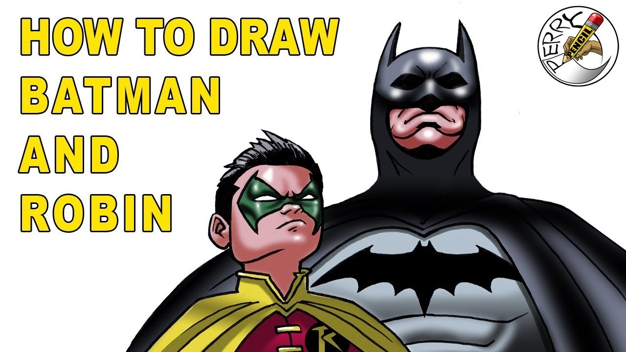 1280x720 How To Draw Batman And Robin