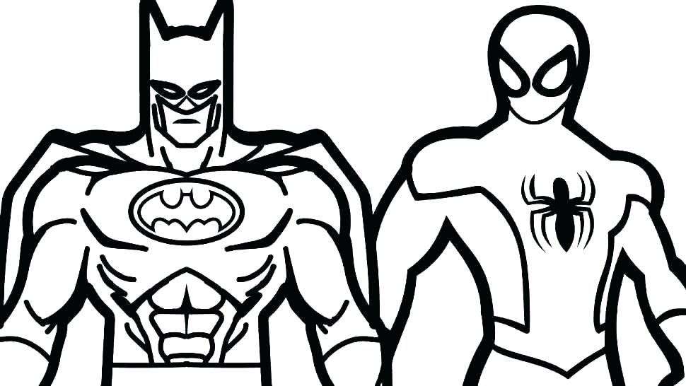 970x546 Free Coloring Pictures Of Batman And Robin