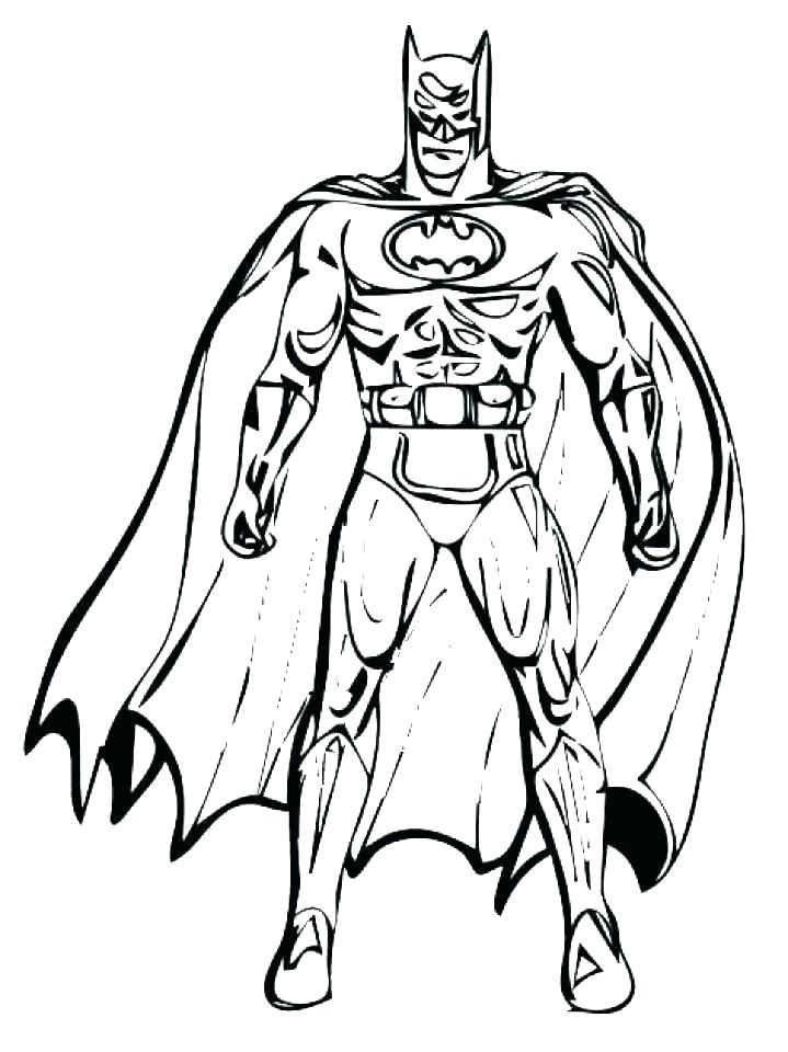 719x960 Batman And Robin Coloring Pages Beyond Printable Joker Free