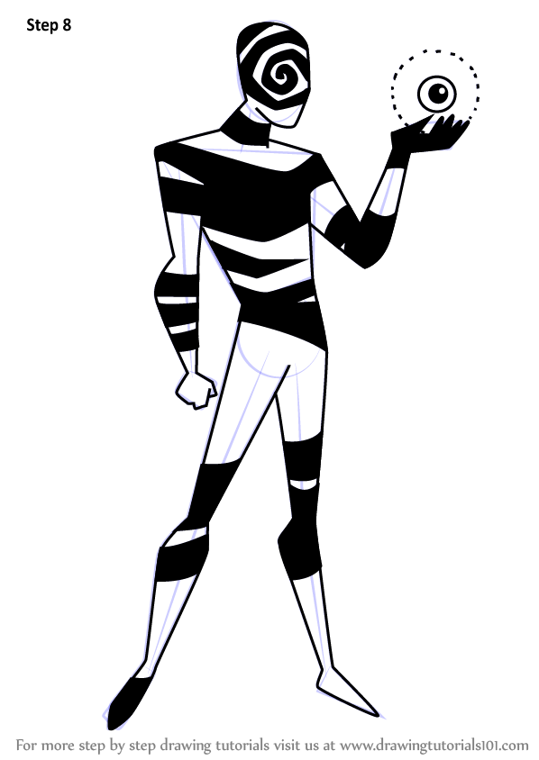 598x844 Learn How To Draw Spellbinder From Batman Beyond